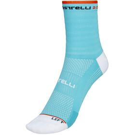 Castelli Rosso Corsa 11 Socks Women celeste